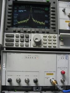 Hp 70340a Synthesized Signal Generator 1 20 Ghz 1 Hz Resolution 90 To 13 Dbm