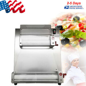 Automatic Electric Pizza Dough Roller sheeter Machine Pizza Making 4 15 370w