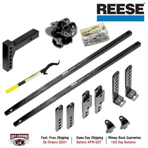 66557 Reese Steadi Flex Weight Distributing Hitch With Sway Control 4 000 Lbs