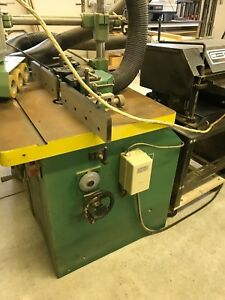Woodtek 3hp Shaper With 1 Hp Grizzly Power Feed Unit