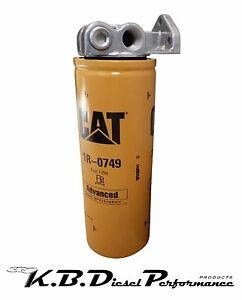 Napa 4770 Wix 24770 Diesel Fuel Filter Remote Mount Base Caterpillar 1r 0749