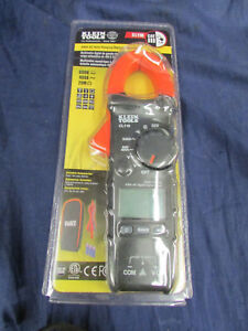 Klein Tools Cl110 Ac Auto Ranging Digital Clamp Meter New