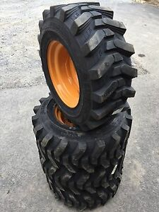 12 16 5 Hd Skid Steer Tires wheels rims camso Sks532 12x16 5 For Case 1845c Etc