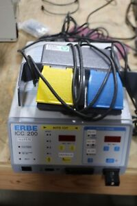 Erbe Icc 200 Electrosurgical Unit With Foot Pedal