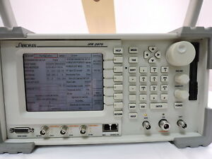 Aeroflex P25 Wireless Radio Test Set Ifr2975 With Remote Cal
