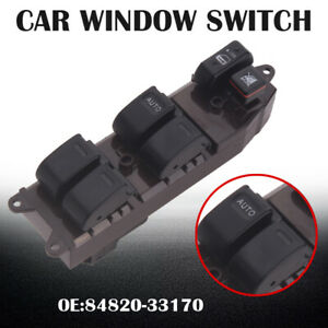 Electric Power Window Master Control Switch For 2003 2008 Toyota Corolla Matrix