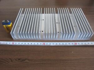 1x Big Ussr Aluminum Heat Sink Radiator 250 Mm X 140 Mm X 35 Mm Weight 1 8 Kg