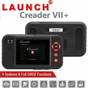 Launch X431 Creader Vii Obd2 Code Reader Scanner Auto Diagnostic Tool Abs Srs