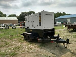Hi Power 235kw Trailer Mounted Diesel 3 Phase Generator