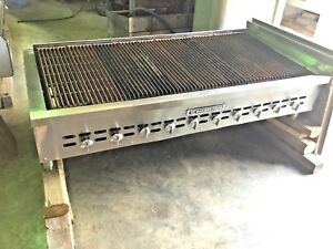 Bakers Pride Natural Gas Charbroiler Grill 58 Xx 10