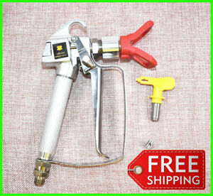 Hot Selling 3600 Psi Airless Spray Gun For Graco Titan Wagner With Spray Tip 517
