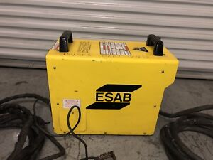 Pcm 875 Plasma Cutter Esab W Torch Accessories 400 460 Volt 3 Phase Tested