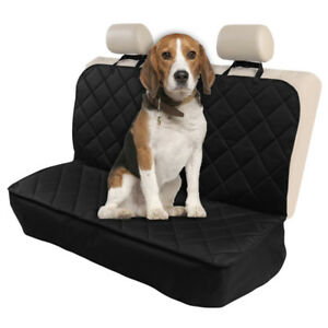Dog Pet Seat Full Cover Car Waterproof Scratch proof Back Rear Protector Mat New
