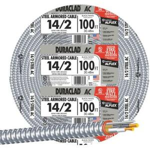 Southwire 100 14 2 Stl Armr Cable 55278323