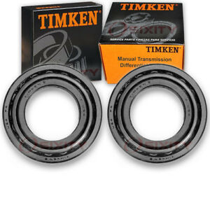 Timken Front Inner Transmission Differential Bearing 1990 Ford Bronco Ii Ff