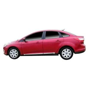 For Ford Focus 2012 2018 Dawn Chrome Lower Body Side Moldings