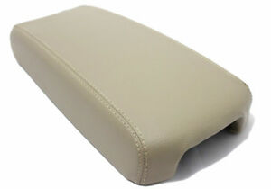 Beige Center Console Lid Armrest Cover Synthetic Leather For 13 18 Nissan Altima