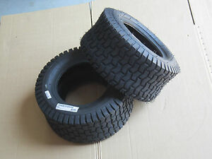 2 New 20x8 10 Carlisle Turf Tires Fit 154 Cub Ih Lo Boy 184 185 20 8 10