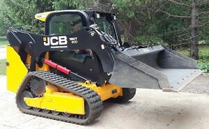 Genuine Jcb 190t Skid Steer 18 Ft Tri Axle 9 Ton Landscape Trailer