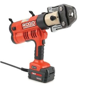 Ridgid 43373 Rp 340 Corded Press Tool Kit With Propress Jaws 1 2 2