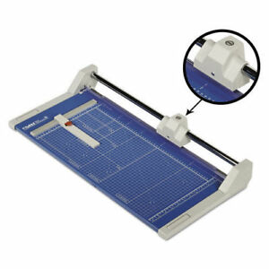 Dahle 552 Professional Rolling Trimmer 20 Cut Length 20 Sheet Capacity Paper