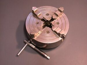 Excellent 6 Skinner South Bend Lathe 4 Jaw Chuck