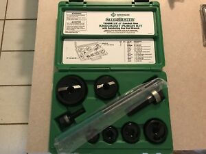 Greenlee 7238sb Slugbuster Knockout Punch Set 1 2 To 2 Exc