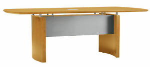 Mayline Group Napoli Curved End Conference Table