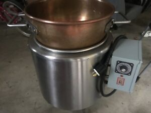 Savage Commercial Electric Candy Stove 8 5e Copper Kettle 220v