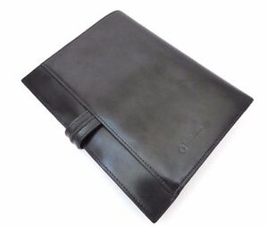 Franklin Covey Leather Organizer Planner 7 Ring Black Notebook