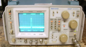 Tektronix 492p Tek 492 Spectrum Analyzer Opt 1 2 Gpib works