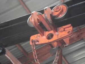 Renfroe B 2 Trolley Clamp 1 ton 3 To 6 I beam
