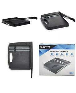 Heavy Duty Paper Cutter X acto Industrial Photo Cutting Board Measuring Edge