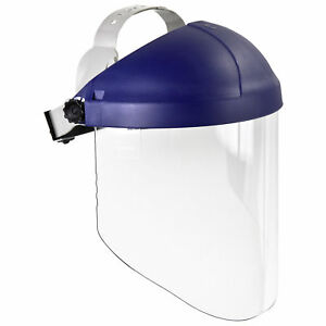 3m 82783 00000 Clear Polycarbonate Faceshield With Ratchet Headgear