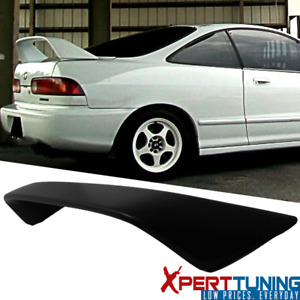 Fits 94 01 Acura Integra Db8 Dc2 Type R 2dr 3d Hatchback Abs Black Trunk Spoiler