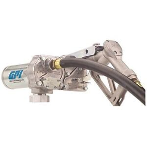 Gpi 110000 100 M 150s au Fuel Transfer Pump 15 Gpm 12 vdc 0 75 inch Unleaded