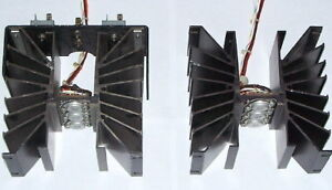 Pair Large To 3 Heatsink 2n3055 Transistor Ps Radio Transmitter Power Amplifier