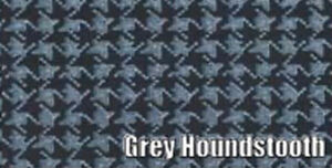 1960 1962 Plymouth Valiant Trunk Mat Grey Houndstooth Printed Vinyl