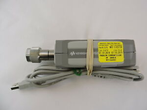 Agilent U8481a Dc 10 Mhz 18 Ghz Usb Thermocouple Power Sensor Op100 N Type