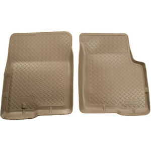 35113 Husky Liners Tan Classic Front Floor Mats For Toyota Tacoma 1995 2004