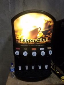 Grindmaster Cecilware Pic5 Hot Beverage Machine Cappuccino hot Chocolate Dry Mix