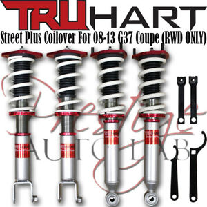 Truhart Adjustable Streetplus Sport Coilovers Kit For Infiniti G37 2008 13 Coupe