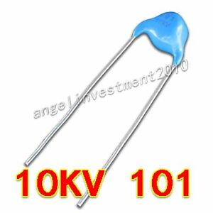 New High Voltage Ceramic Capacitor 10kv101 10000v 100pf