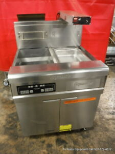 Frymaster Fmp145eisc Gas Single Deep Fryer With Dump Station Filtration System