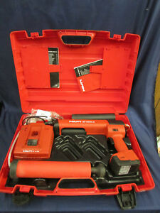 Hilti Ed 3500 a Cordless Dispenser Epoxy Gun W case Battery Charger