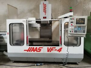 Haas Vf 4 Cnc Mill 50x20x20 7500 Rpm