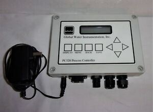 Globel Water Instrumentation Inc Pc320 Process Controller With Adapter Cord