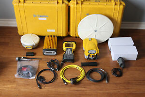 Trimble 5700 5800 L1 L2 Gps Rtk Base Rover Survey Setup 450 470mhz W Tm3 Tsc2