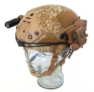 DLP Tactical fully loaded Custom ACH Bump Helmet FAST OPS-Core Crye AirFrame