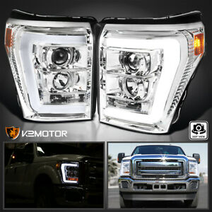 For 2011 2016 Ford F250 F350 F450 Superduty Led Projector Headlights Left Right